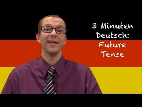 Future Tense - 3 Minuten Deutsch #24 - Deutsch lernen