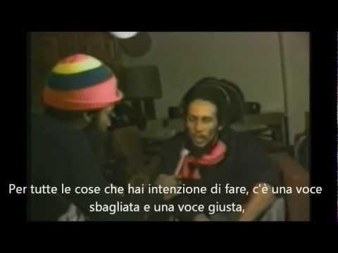 Le ultime parole di Bob Marley ai propri fans sottotitolato in Italiano