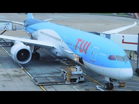 ✈ TUI Airlines UK Boeing 787-9 Dreamliner London Gatwick to Punta Cana *FULL FLIGHT* TOM050