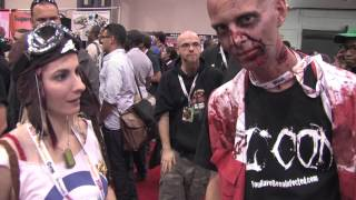 Zombie Interview @ New York Comic Con (12-Oct-2012)