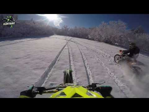 KTM Wide Open ✊💨 Motocross Snow MX Fun Ride III GoPro 4