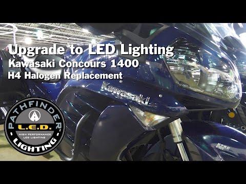 B/O SHIPS AFTER 9/18/19 KAWASAKI CONCOURS COMBO LED KIT