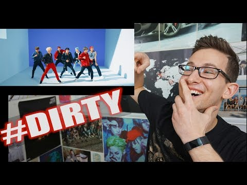 BTS 방탄소년단 - DNA MV Reaction [DIRTYYYYYY]