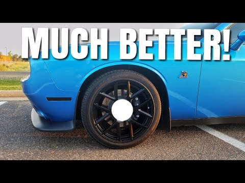 How to make Dodge Challenger/Charger black wheels look GREAT!