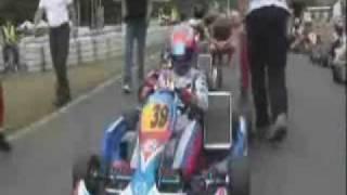 Schumacher volta ao kart Video