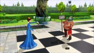 Battle Chess: Game of Kings - Rampaging Queen (PC HD Gameplay)