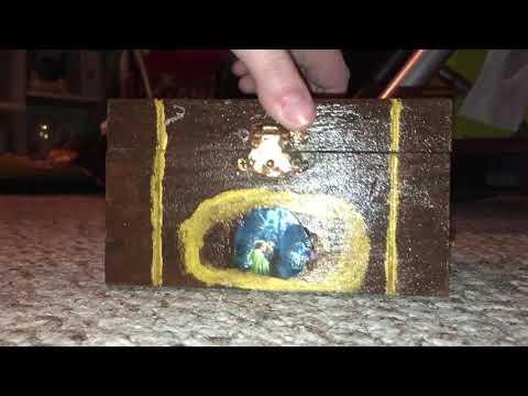 Custom phantom of the opera music box I made
