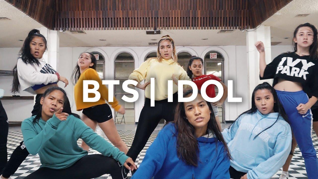 Idol Bts Feat Nicki Minaj Dance Video Besperon Choreography Idolchallenge