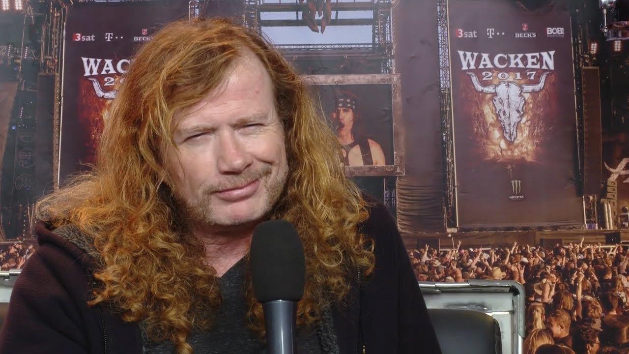 Megadeth Dave Mustaine Interview Wacken 2017 - YouTube
