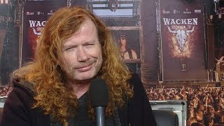Megadeth Dave Mustaine Interview Wacken 2017