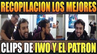 LOS MEJORES CLIPS DE IWO Y EL PATRON NDREE - DOTAPARTY