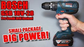 Bosch Pro Combi Drill Review Gsb 18v 28 Youtube