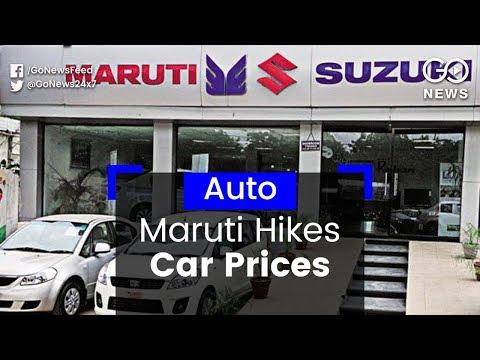Maruti Hikes Car Prices