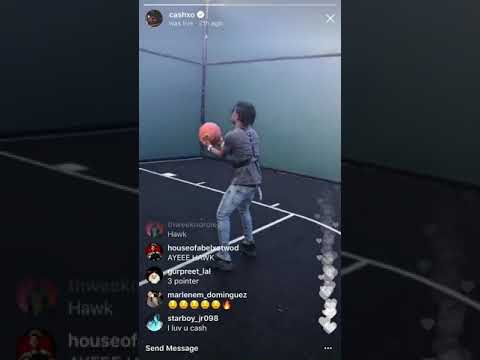 Nav and lil uzi vert playing basketball