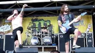 The Black Dahlia Murder - Into the Everblack - Live 8-3-13 Vans Warped Tour