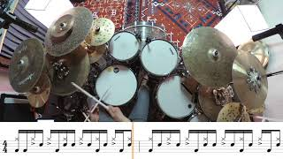 Lenny Kravitz - Come On And Love Me - Drum Groove