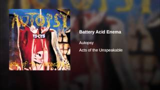 Battery Acid Enema