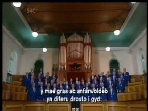 Cor Meibion Ystradgynlais Male Choir sing Price