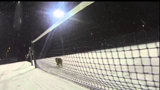 GoPro in the Evening Snow