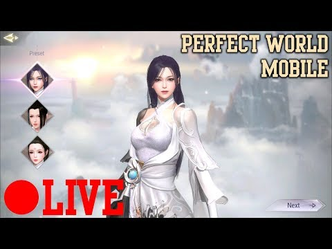 LIVE! Perfect World Mobile - Server OC (Android MMORPG)
