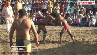 Thapa Nepal in Naina Devi Kushti Dangal 03 May 2019