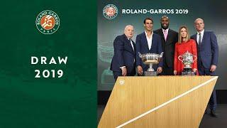 #RG19 Draw   Roland-Garros