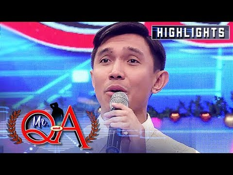 Nico Antonio Emerges As The New Mr. Q And A | It's Showtime Mr. Q And A