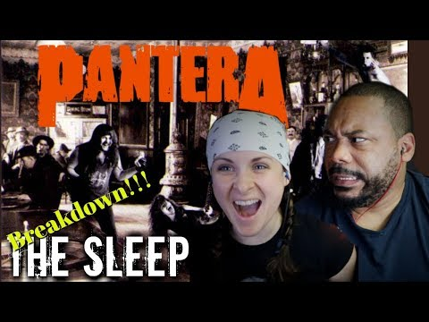 PANTERA The Sleep Reaction!!!