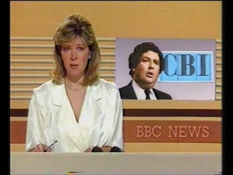 BBC 9 O'Clock News & Weather - 26th June 1985