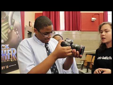 Ghetto Film School STEM (Marvel's Black Panther STEM Day)