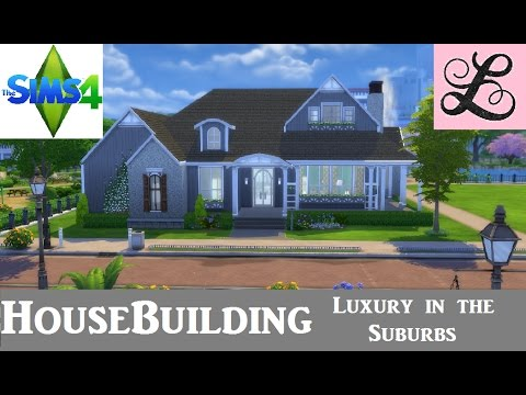 The Sims 4 | House Building | Speedbuild | Luxury In The Suburbs