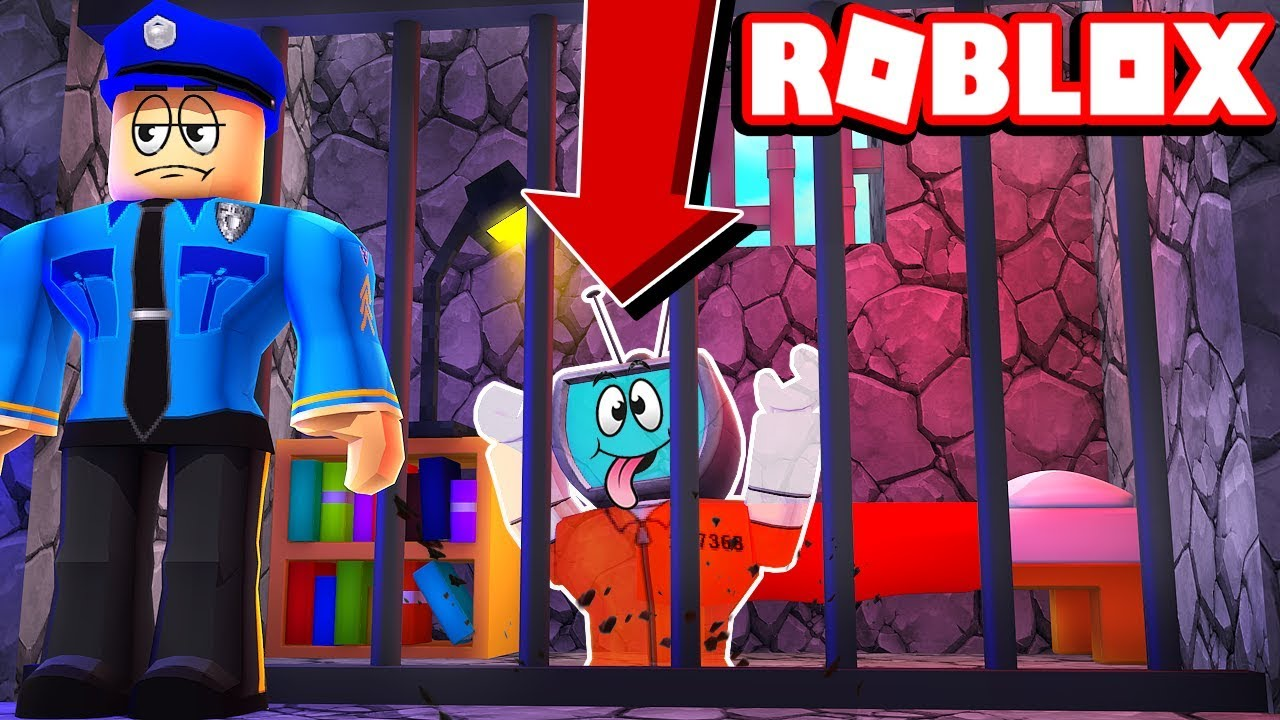 Escape Room Roblox Code For Jail Codes Roblox Prison Escape Simulator Breaking Out Of Jail Youtube