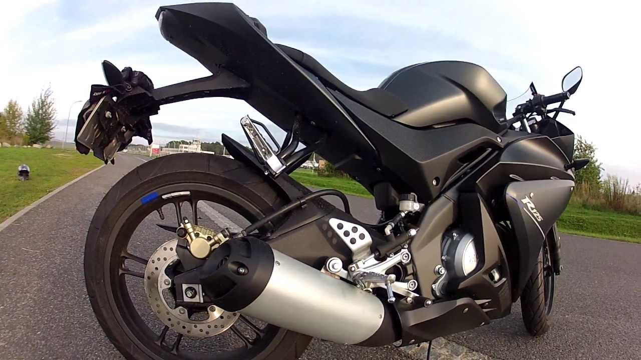 Yamaha Yzf R125 Special Edition Carbon Tech - Sound   Review