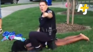 Texas Cop Violently Detains Black Teens at Pool Party