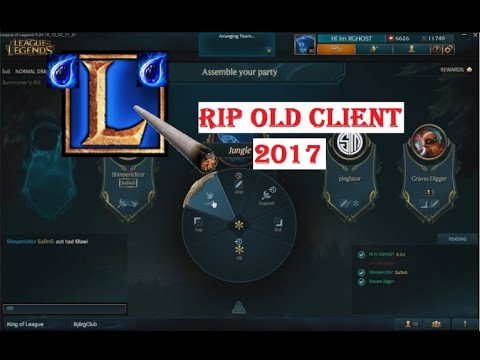LOL RIP Old Client BUG/WTF Moment - League of Legends