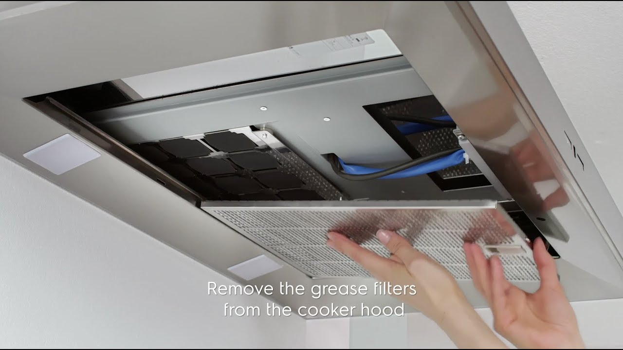 How to change and maintain your Electrolux cooker hood filter - Supercharge  filter