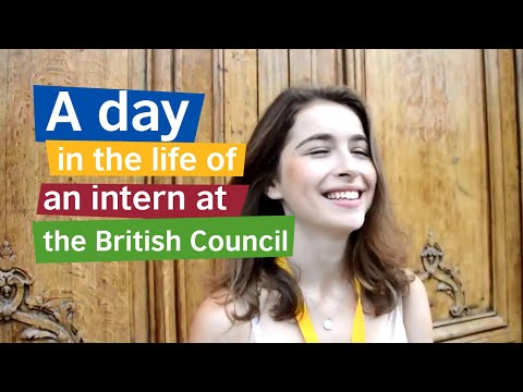 A Day In The Life Of An Intern At The British Council