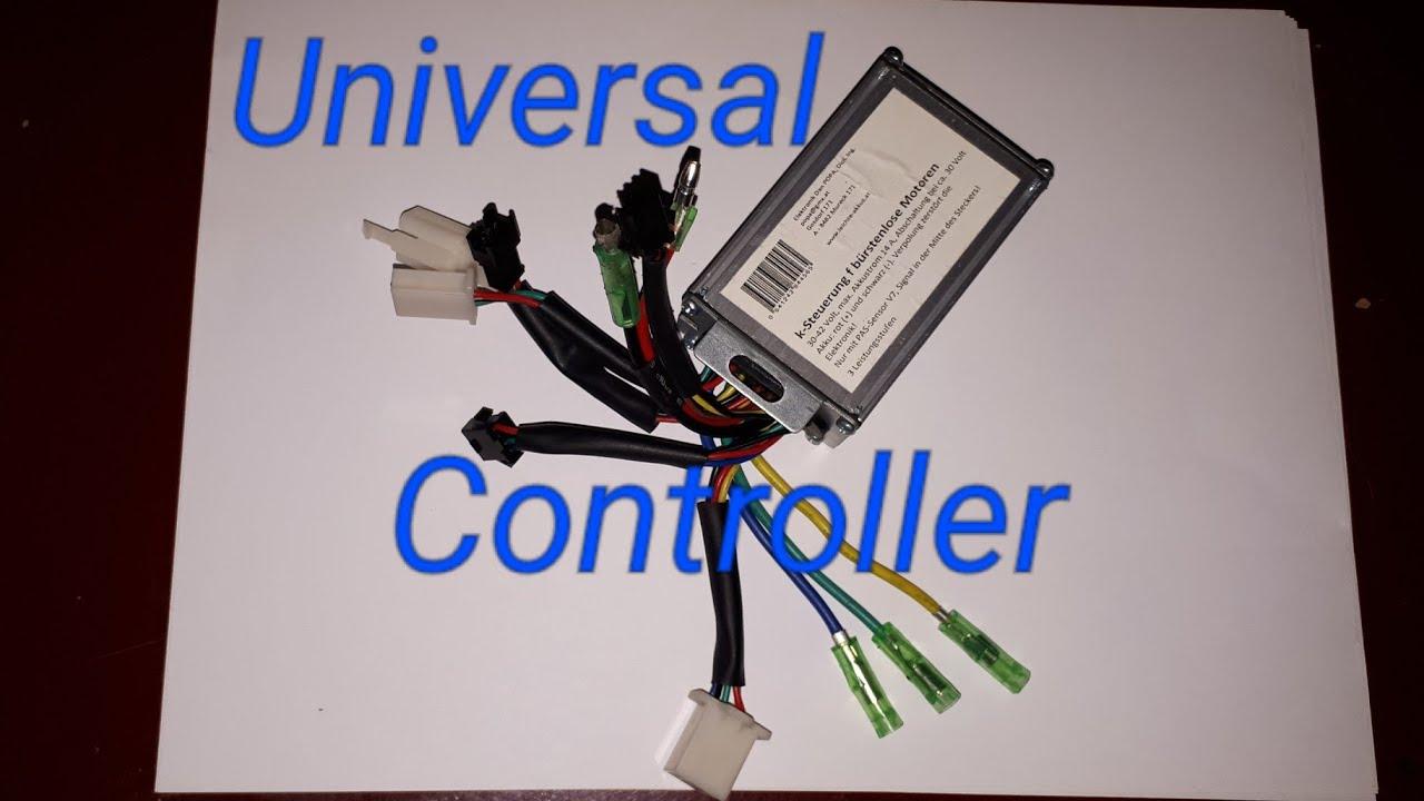 E-bike controller was ist ein Universal controller? Erklärung - YouTube