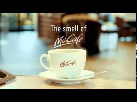 The smell of McCafé