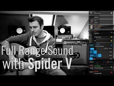 Benefits of Full Range Sound | Line 6 Spider V
