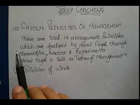 Business Studies Chapter 2- Principles of Management In Hindi with example  by JOLLY Coaching