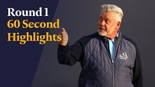 Highlights from Darren Clarke's historic opening round