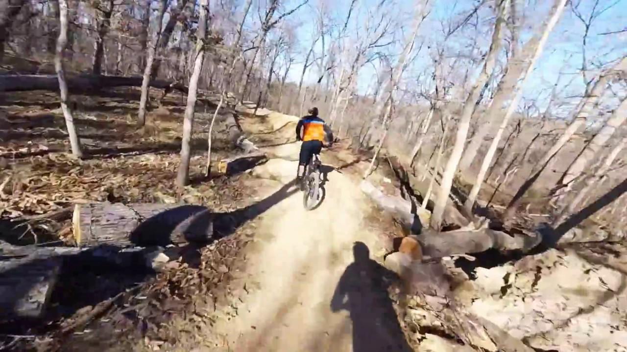 Coler Mountain Bike Trail Bentonville Arkansas Youtube