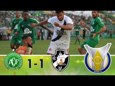 Melhores momentos - Chapecoense 1 x 1 Vasco - Campeonato Brasileiro (22/04/2018)