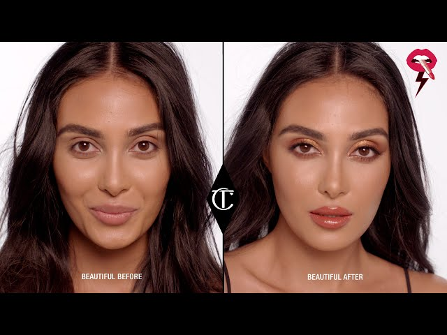 How To Do A Gold Smokey Eye Look - ICON Palette | Charlotte Tilbury