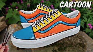 Custom CARTOON Vans!
