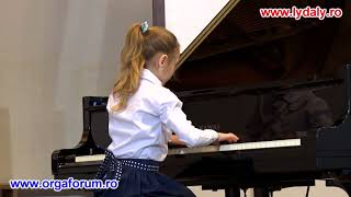 Piano - The first concert clasa a-I-a