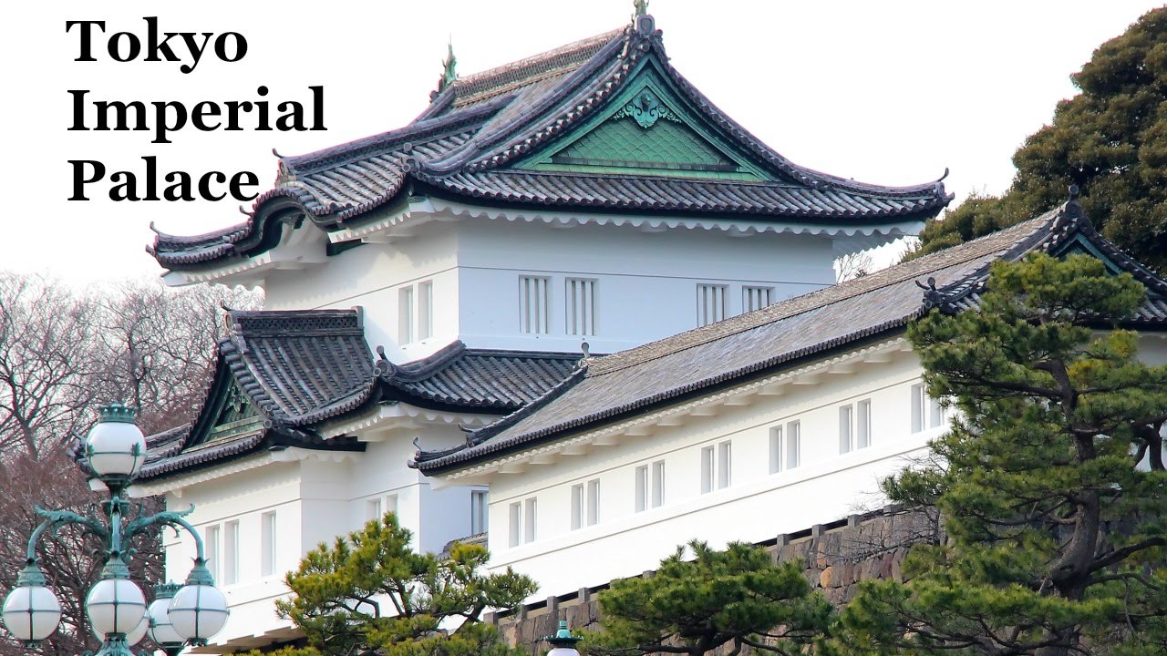 Living in Japan: Tokyo Imperial Palace - YouTube