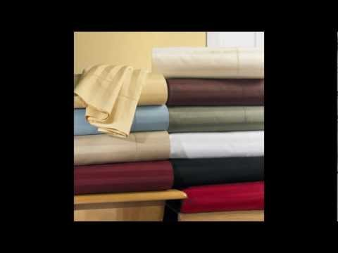 100% Egyptian Cotton Linens, 300 to 1500 Thread count sheet sets