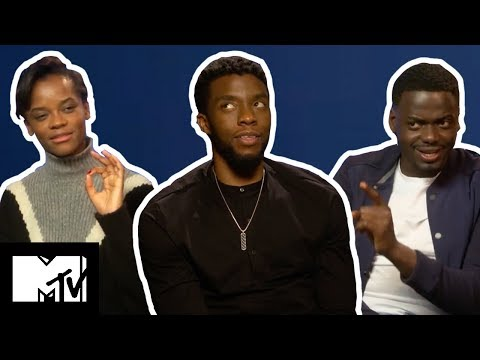 Black Panther Cast Play WOULD YOU RATHER  MTV Movies